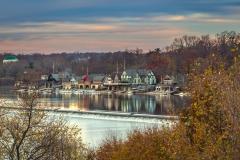 Philadelphia-Boathouse-Row-in-Autmn