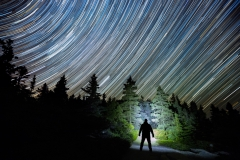 Schoodic Peninsula Star Trail