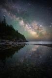 Milky Way over Acadia National Park, Maine 6-6-19 117