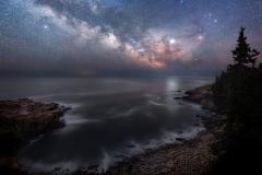 Milky Way over Acadia National Park, Maine 6-3-19 6